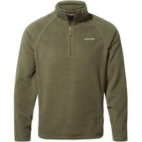 Craghoppers Corey VI Half Zip Shirt Men, woodland green